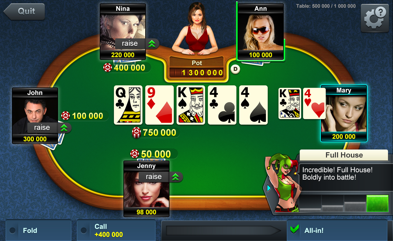 card games poker online free